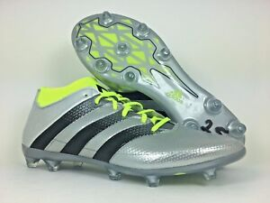 new product 68736 c999e Details about ADIDAS ACE 16.2 PRIMEMESH FG/AG SOCCER CLEAT METALLIC NEON  (AQ3448) SZ 10