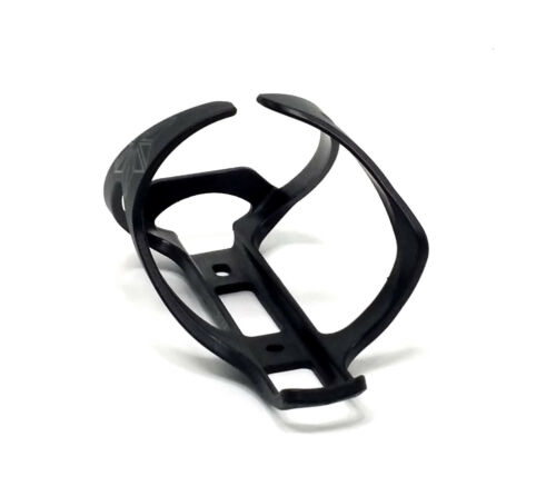 SUPACAZ TRON COMPOSITE SIDE LOAD RIGHT HAND BLACK WATER BOTTLE CAGE