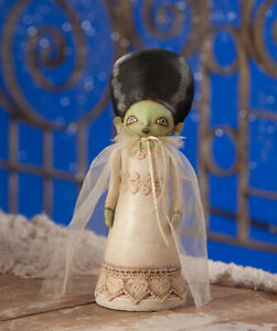 "NEW 2019 Bethany Lowe Designs Halloween /""Froggy Fern/"" TD8509"