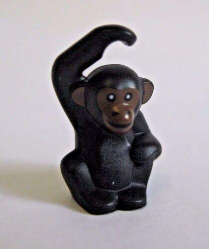 Brown Face Lego CHIMPANZEE Monkey Zoo Animal NEW