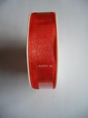 Organza- Chiffonband 25mmx20m LILA