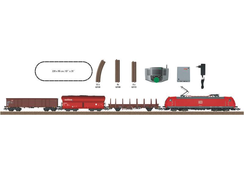 Trix 21527 digital envase de inicio  mod. transporte de mercancías  con MS 66950  neu en OVP