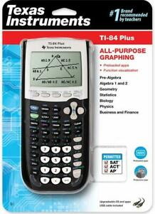 NEW-Texas-Instruments-TI-84-Plus-All-Purpose-Graphing-Calculator-Case-Black