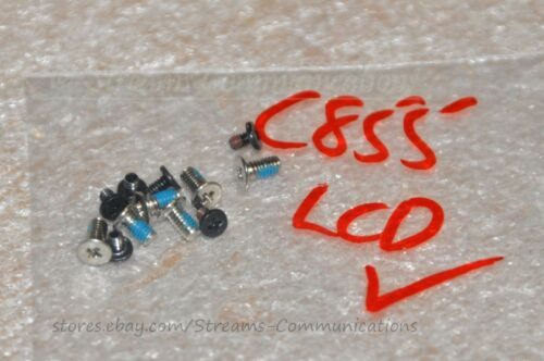 "TOSHIBA Satellite C855 C855D 15.6/"" Laptop LCD Screws"