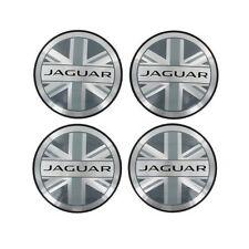 Item 4 NEW JAGUAR F TYPE UNION JACK CENTER CAPS SET OF 4 T2R5513  NEW  JAGUAR F TYPE UNION JACK CENTER CAPS SET OF 4 T2R5513