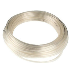 """Firm Sturdy PVC Clear Tubing Food//Beverage Inner Dia 5//32/"""" Outer Dia 9//32/"""" 25ft"""