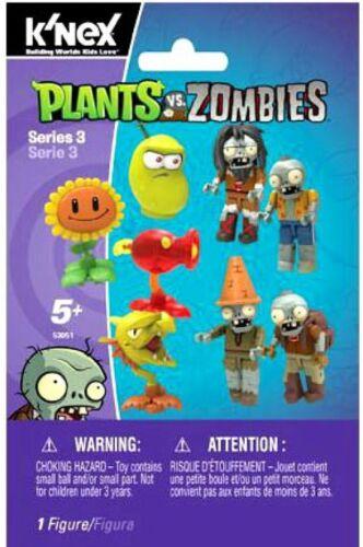 K/'NEX Plants vs Zombies Series 3 Mystery Pack #53051
