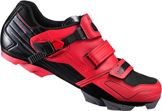 shoes bici MTB Shimano SH-XC51R rosse mountain bike shoes red 44 46