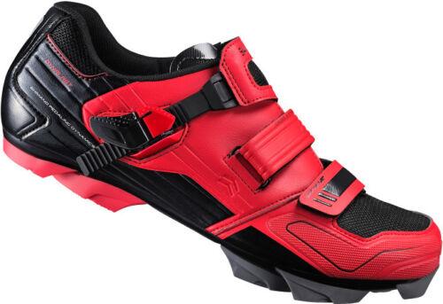 Scarpe bici MTB Shimano SH-XC51R rosse mountain bike shoes red 44 46