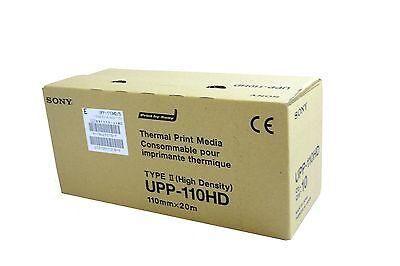10 Rolls//Case Sony UPP-110HA Superior Density Printing Paper