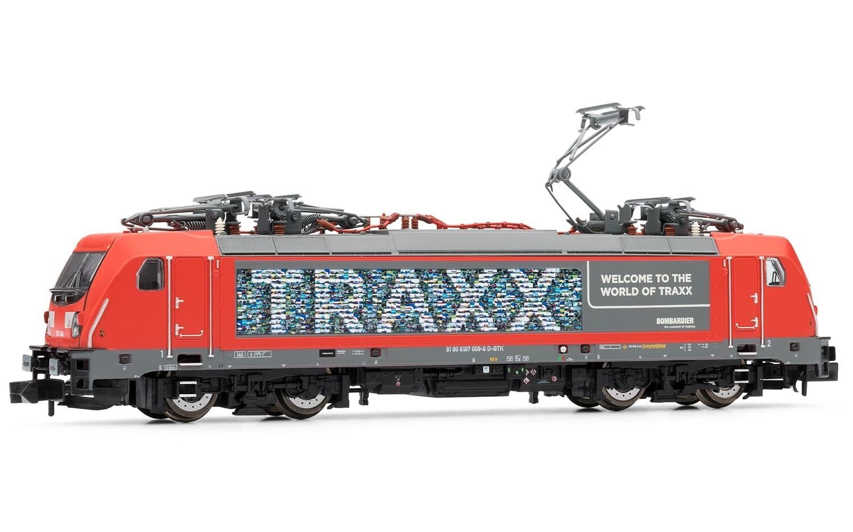 Arnold-N-hn2340-e-Lok TRAXX TRAXX TRAXX 187 009-6 Bombardier ep5-6 rosso con Dieselmotor ef50c7