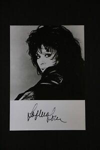 Sophia Loren Famed Film Actress Autographed 5x7 Black & White Photograph