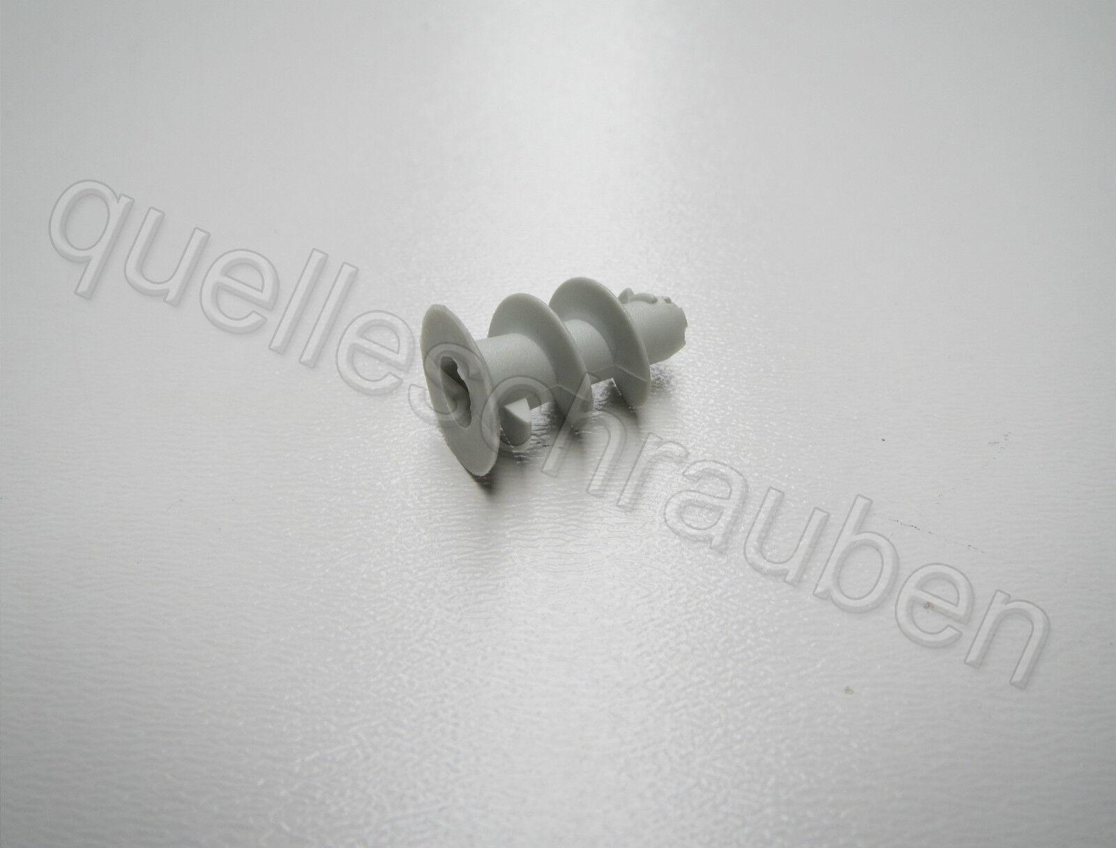 Gipskartondübel Hohlraumdübel Rigipsdübel Kunststoff Torx TX 30 Grau Dübel   NEU