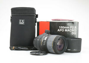 Nikon-Sigma-150-mm-2-8-DG-IF-APO-EX-HSM-Macro-Sehr-Gut-225721