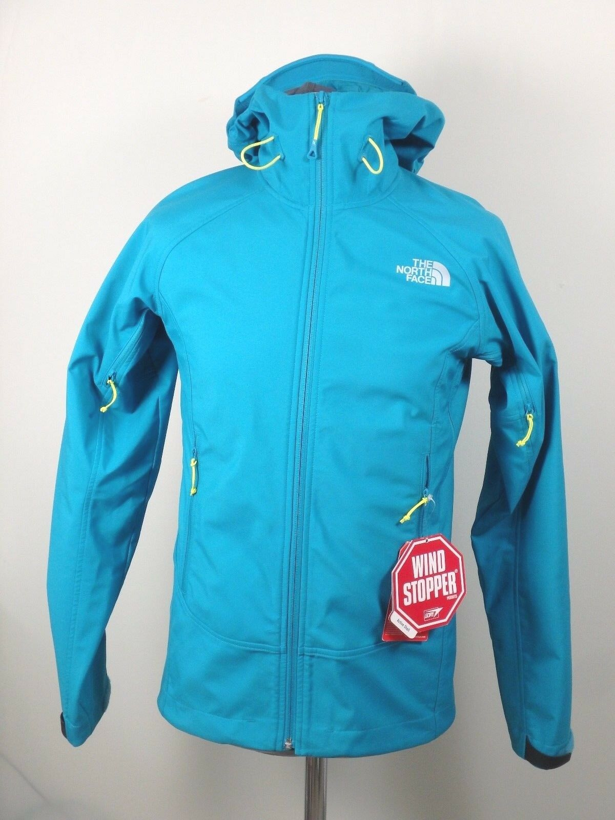 The North Face Valkyrie Softshell outdoor chaqueta señores talla S P turquesa