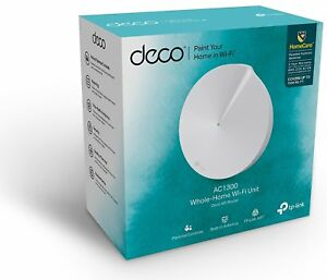Details about TP-Link Deco M5 Router 1-Pack Whole Home Mesh WiFi System  Dual Band AC1300