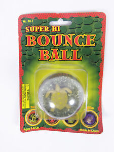 Vintage Polyfect Toy Super Hi Bounce Ball Turtle Turtle