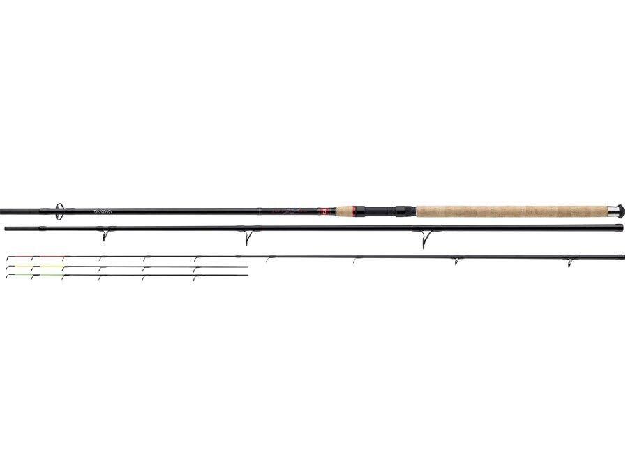 NEW 2018    Daiwa Ninja X Feeder / 3,30m-3,90m / 3+3 sections / feeder rod 91abba