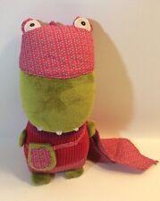 "Ze Super Zeros Zoco The Crocodile Plush Toy Excellent! 10"""