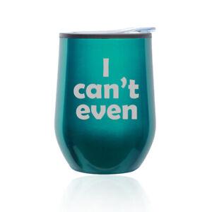 Stemless Wine Tumbler Coffee Travel Mug Glass Keep Calm And Love Hippos