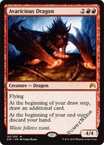 1 FOIL Avaricious Dragon Red Origins Mtg Magic Mythic Rare 1x x1