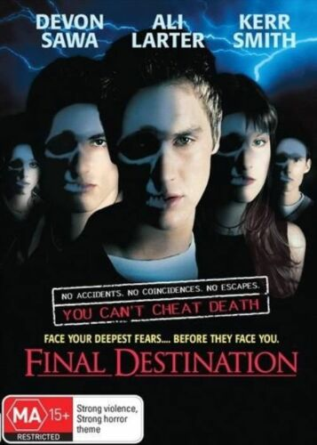 1 of 1 - Final Destination (2000) Ali Larter - NEW DVD - Region 4