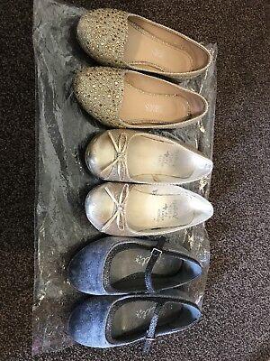 Party Ballerina Shoes Next Asda Size