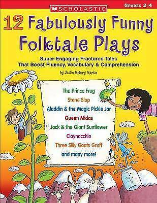 1 of 1 - 12 Fabulously Funny Folktale Plays: Boost Fluency, Vocabulary, and...