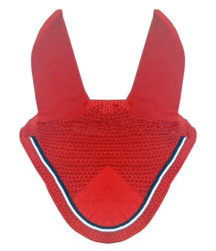 Horse Fly Bonnet Fly veil Ear Bonnet Fly Veil Cotton Crochet Handmade