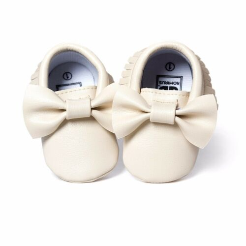 Baby Tassel Soft Sole Leather Shoes Infant Summer Toddler Moccasin 0-18 Months