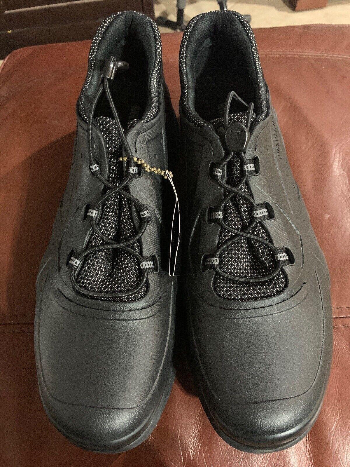 New Hommes Wolverine W20516 Serve SR Travail Chaussures Noir Taille 14
