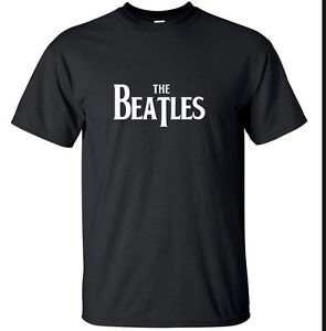 The-Beatles-Black-or-White-retro-rock-music-T-Shirt-Magical-Small-2XL