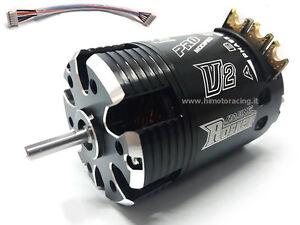 Motore Rocket Brushless Sensored Pro modifié 540 7.0t Con Sensori 1/10 Himoto