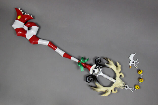 "Kingdom Hearts Decisive Pumpkin Keyblade Cosplay Prop 37.5"" costume FRP RESIN"