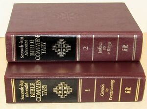 Details about SEVENTH DAY ADVENTIST BIBLE COMMENTARY (Volume 1 & 2,  Hardcover)