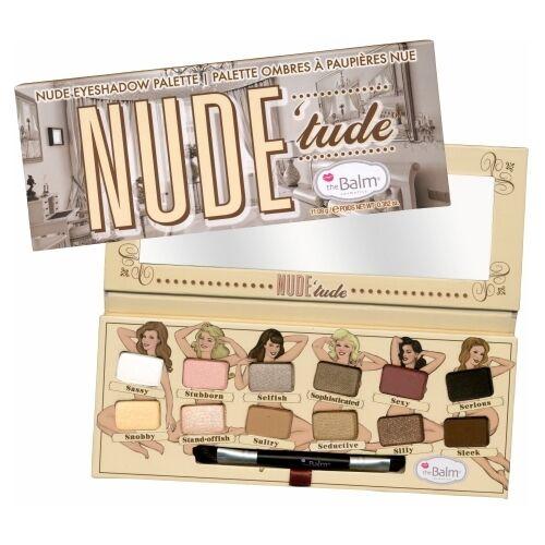 theBalm Nude'Tude Nude Eyeshadow Palette - 12 Shades
