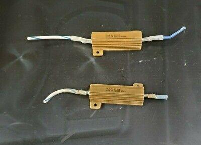 DALE RH-50 .03Ω  50W 1/% POWER RESISTOR 7132 LOT of 2