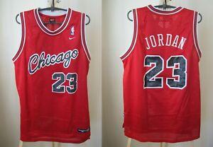 Details about Chicago Bulls #23 Michael Jordan Size M Nike basketball jersey shirt maillot