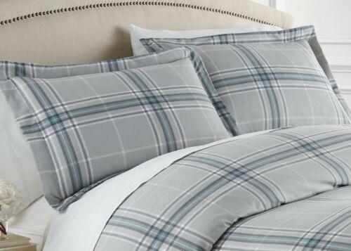 Vilano Plaid Reversible Comforter Sets