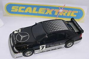 Scalextric C2438w Mercedes C Classe #7 Uniquement Jouets'r'us Ensemble C-1088