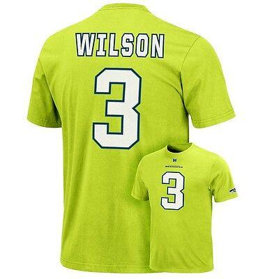 82ddd903 (2018-2019) Seattle Seahawks RUSSELL WILSON nfl Jersey Shirt Adult  MENS/MEN'S xl | eBay