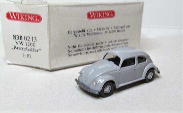 VW 1200 Brezelkäfer graugrün Wiking 1:87 H0 ohne OVP KM3