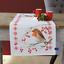 Vervaco-corredor de la tabla-Cross Stitch Kit-Robin-PN-0155637