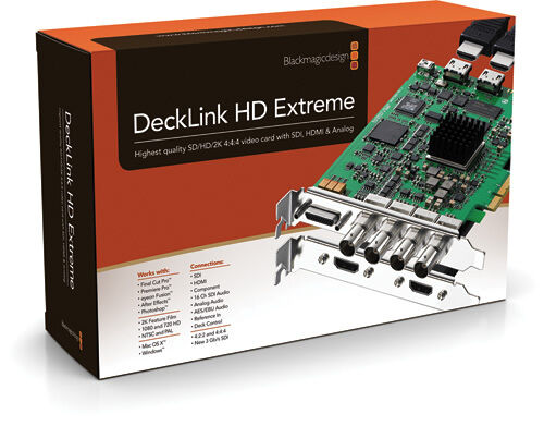 DECKLINK HD EXTREME 3 DRIVER FOR MAC