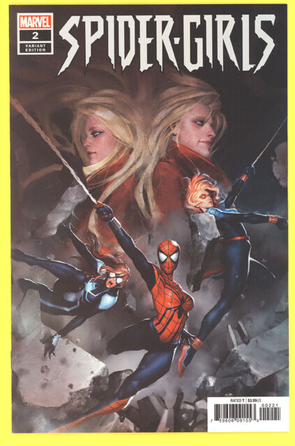 Spider-Girls #2 Gang-Hyuk Lim 1:25 Incentive 2018 Variant *NM*