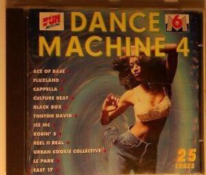 Dance-Machine-Diebstahl-4-Compilation-CD-Ref-1178