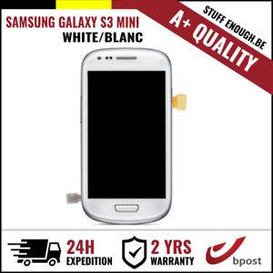 A+ LCD TOUCH SCREEN DISPLAY/SCHERM/ÉCRAN WHITE FOR SAMSUNG GALAXY S3 MINI