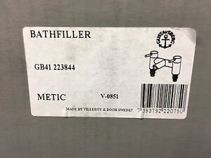 Gustavsberg Metic bath filler gb41223844 made by Villeroy amp Boch - Pinner, London, United Kingdom - Gustavsberg Metic bath filler gb41223844 made by Villeroy amp Boch - Pinner, London, United Kingdom