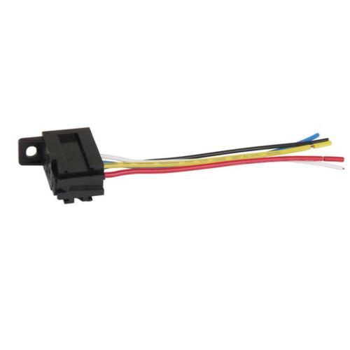 Car 12V 12 Volt DC 20A//30A AMP Relay Harness Socket Connectors 5Pin 5 Wire