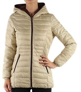 Womens-Quilted-Padded-Puffer-Bubble-Down-Feel-Light-Weight-Ladies-Jacket-Coat